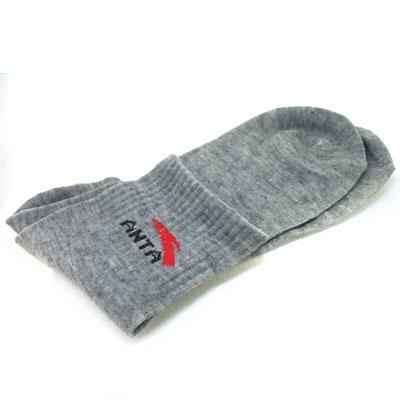 灰色时尚袜子/运动男士袜子
